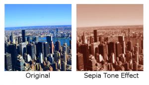 Sepia Tone Effect