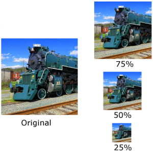 Train on Tracks Resizing